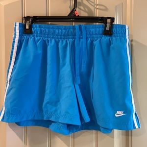 Women's Athletic Shorts by Nike Brand.
